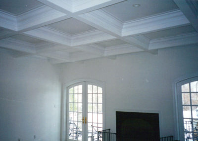 A Beautiful Coffered Ceiling