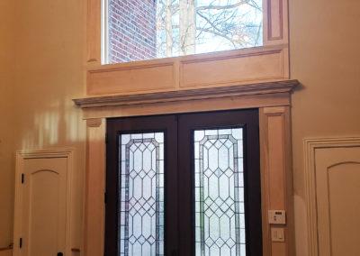 Palladium window with Panels and Pediment